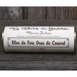 Bloc de foie gras de canard 325 gr