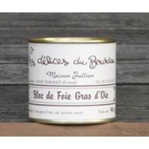 Bloc de foie gras d'oie 90 gr